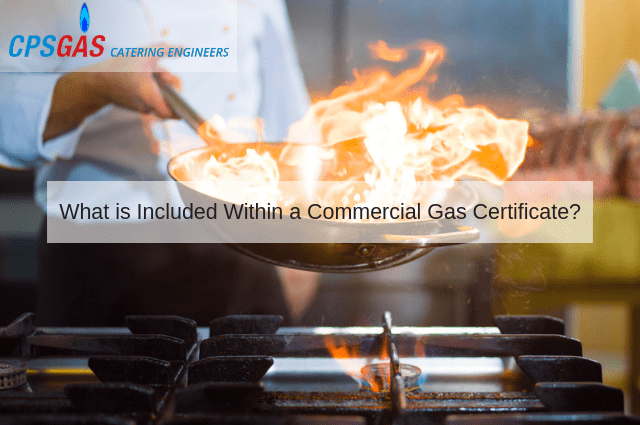 What is Included Within a Commercial Gas Certificate?